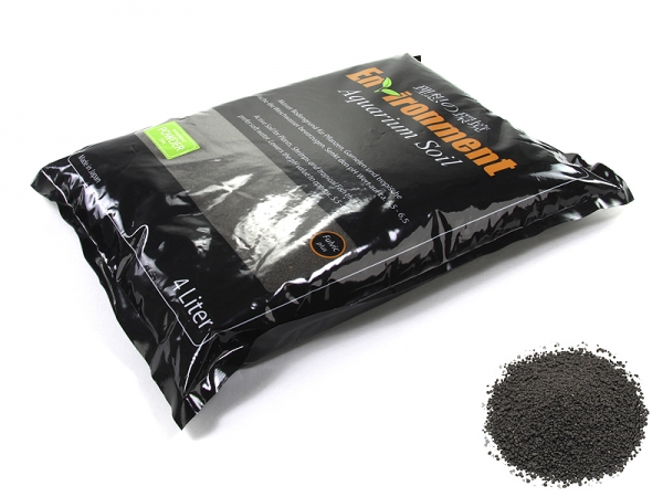 Environment Aquarium Soil Powder - 4 L