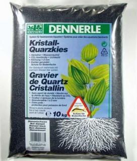 Dennerle Kristall-Quarzkies Diamantschwarz - 10 kg