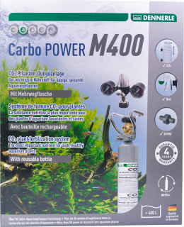 Carbo Power M400 Co2 Dünge Set Mehrweg