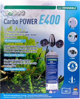 Carbo Power E400 Co2 Pflanzen-Dünge-Set EINWEG