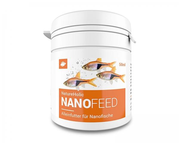 NatureHolic Nanofeed - Minifischfutter - 50ml