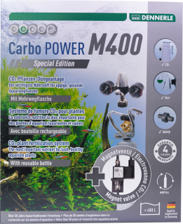 Carbo Power M400 spec. Edition Co2 Dünge Set Mehrweg