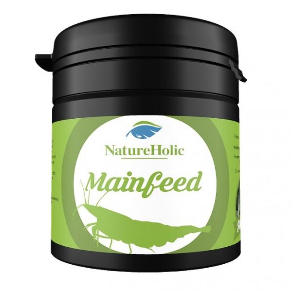 NatureHolic - Mainfeed Garnelenfutter - Futter für Wirbellose im Aquarium - 30g