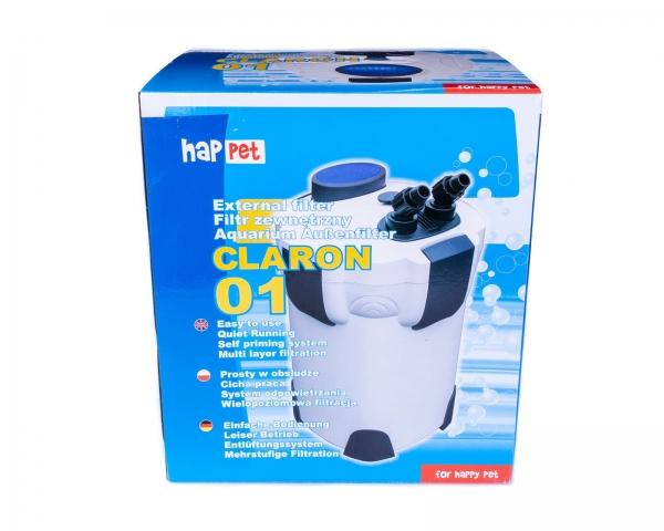 Claron externe Filteranlage