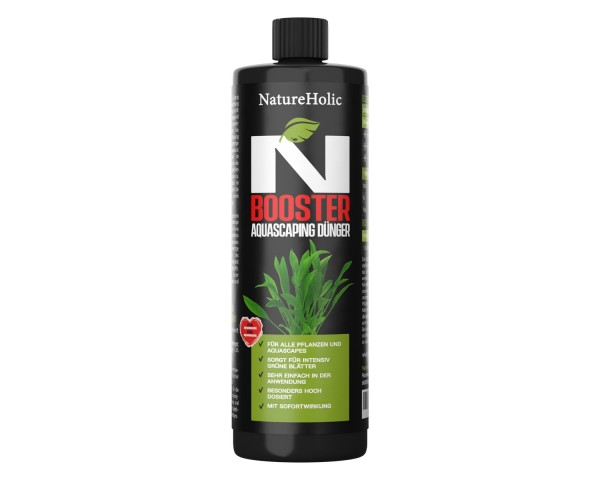 NatureHolic - N Booster - flüssiger Nitrat Aquariumdünger