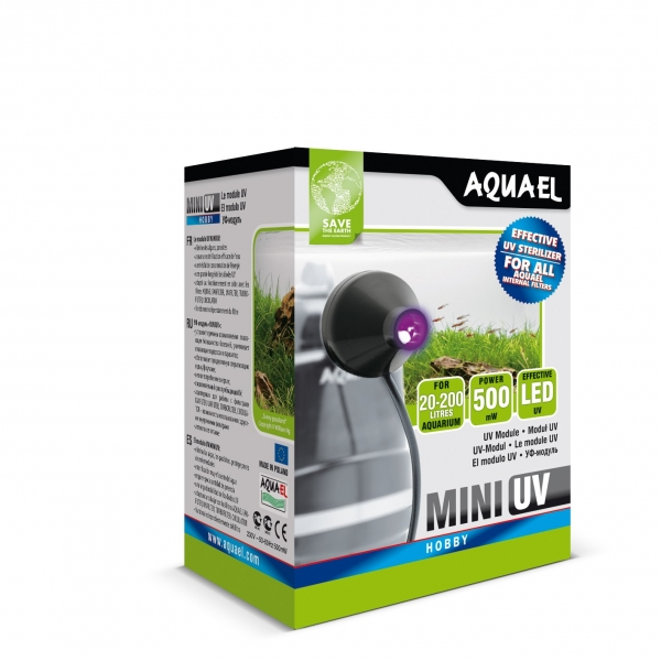 UV Lampe Sterilisator UV mini 1W