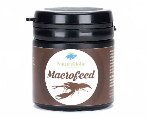 NatureHolic - Macrofeed / Großarmgarnelen-Futter - 30g