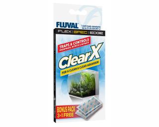 ClearX - Filtermaterial für Fluval Aquarien - 4 Stk.