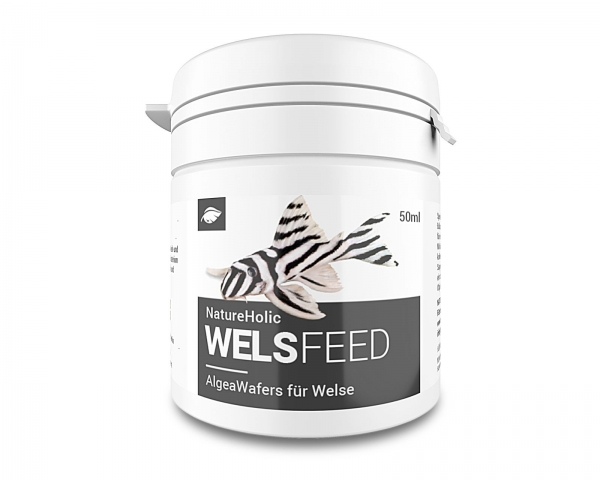 NatureHolic Welsfeed - Welsfutter - 50ml