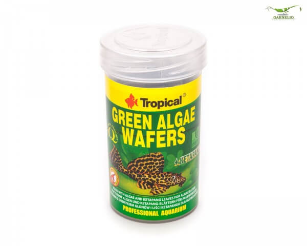 Tropical Green Algae Wafers - 250 ml