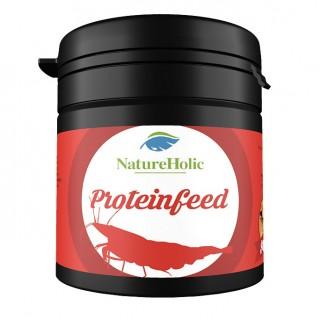 NatureHolic - Proteinfeed Garnelenfutter - Futter für Wirbellose im Aquarium - 30g