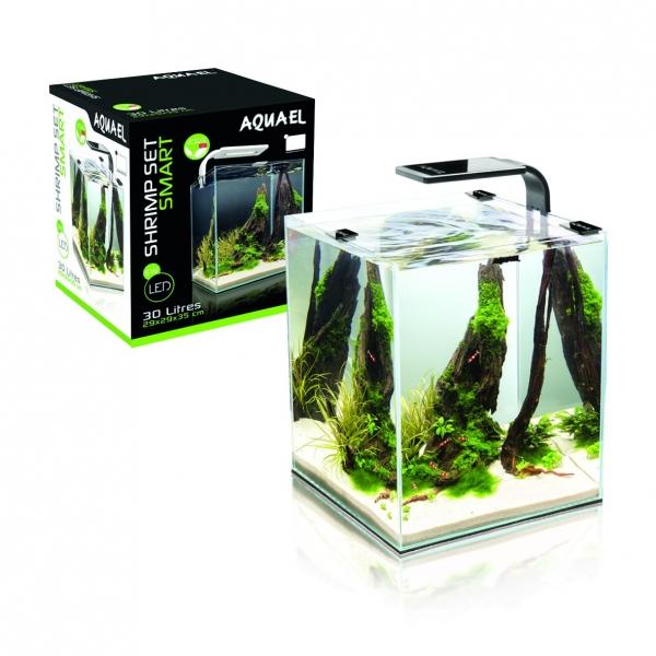 Nano Aquarium - Shrimp Set smart 30L - weiss