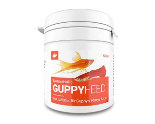 NatureHolic Guppyfeed - Guppyfutter 50ml