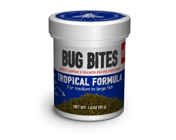 Bug Bites - Futter für mittel bis große Tropische Fische - 45g